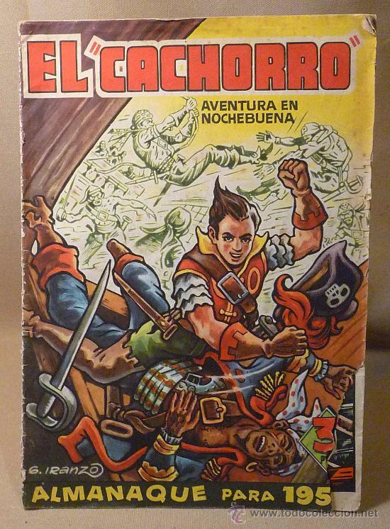 COMIC, ALMANAQUE 1957, EL CACHORRO, BRUGUERA (Tebeos y Comics - Bruguera - El Cachorro)