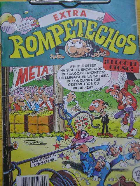 ROMPETECHOS Nº 63 EXTRA OTOÑO BRUGUERA 1984 ANACLETO BUDA DE JADE BARRA B ROBIN ROBOT TRAGACANTO (Tebeos y Comics - Bruguera - Otros)