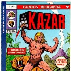Tebeos: KAZAR EDITORIAL BRUGUERA 1978, NºS 1,2,3,4,5,6,7, COMPLETA - , VER TODAS LAS PORTADAS. Lote 22489303