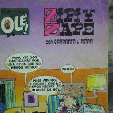 Tebeos: ZIPI Y ZAPE CON CARPANTA Y PETRA COLECCION OLE Nº 172 EDITORIAL BRUGUERA 1982 . Lote 22513940