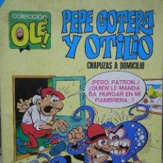 Tebeos: PEPE GOTERA Y OTILIO COLECCION OLE Nº 1 EDITORIAL BRUGUERA SA 1984 CHAPUZAS A DOMICILIO. Lote 22514134