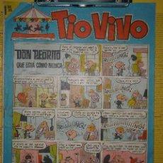 Tebeos: TIOVIVO Nº 216 BRUGUERA 1965 BONIFACIO MORTADELO FILEMON ZIPI ZAPE 13 RUE PERCEBE ROMPETECHOS PIO. Lote 22517207