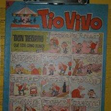 Tebeos: TIOVIVO Nº 220 BRUGUERA 1965 BONIFACIO MORTADELO FILEMON ZIPI ZAPE ROMPETECHOS PIO CHURUMBELE. Lote 22517405