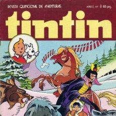 Tebeos: TINTÍN Nº8 (NAHOMI, IVOR, EL DÍA DE LA ATLANTIDA,PAPILIO, BENJAMÍN...). Lote 22523884