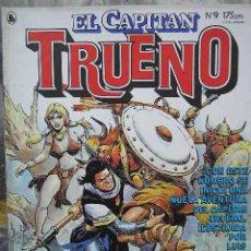 Tebeos: UXTR EL CAPITAN TRUENO Nº 9 BRUGUERA 1986 VICTOR MORA BLASCO MORDILLO MICHELUZZI BONVI QUINO COMIC. Lote 22545669
