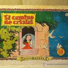 Tebeos: COMIC, COLECCION ROSITA, Nº 4, EDITORIAL BRUGUERA, EL CAMINO DE CRISTAL, ORIGINAL. Lote 22683699