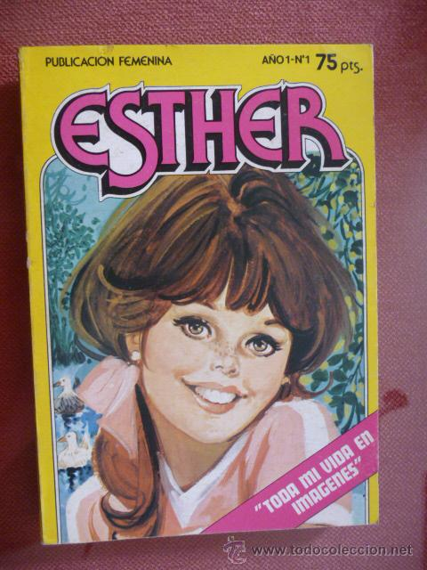 ESTHER POCKET. Nº 1. BRUGUERA (Tebeos y Comics - Bruguera - Esther)