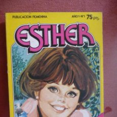 Tebeos: ESTHER POCKET. Nº 1. BRUGUERA. Lote 27472693
