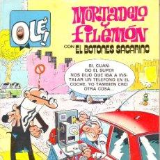 Tebeos: OLE Nº 248-M39. MORTADELO Y FILEMON CON EL BOTONES SACARINO. EDICIONES B. 1987. Lote 25486617