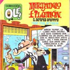 Tebeos: COLECCION OLE Nº 174. MORTADELO Y FILEMON, EL BOTONES SACARINO SIR TIM OTHEO. ED.BRUGUERA, 1985. Lote 25486631