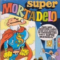 Tebeos: SUPER MORTADELO Nº 1. INCLUYE AVENTURA DE SUPERNOVA. EDITORIAL BRUGUERA.. Lote 26852699