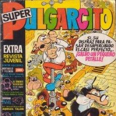 Tebeos: SUPER PULGARCITO Nº 1. INCLUYE AVENTURA INÉDITA DE TENIENTE BLUEBERRY. EDITORIAL BRUGUERA.. Lote 26852700