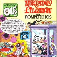 Tebeos: COLECCION OLE Nº 229- M.237. MORTADELO Y FILEMON CON ROMPETECHOS. EDICIONES B. 1992. Lote 25486619