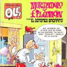 Tebeos: COLECCION OLE Nº 262-M 47. MORTADELO Y FILEMON CON EL BOTONES SACARINO. EDICIONES B. 1987. Lote 22902772