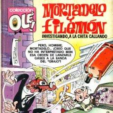 Tebeos: COLECCION OLE Nº 143. MORTADELO Y FILEMON INVESTIGANDO, A LA CHITA CALANDO. ED.BRUGUERA, 1979. Lote 25153477