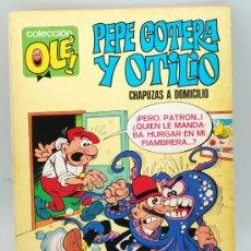 Tebeos: COLECCIÓN OLE PEPE GOTERA Y OTILIO CHAPUZAS A DOMICILIO Nº 1 EDITORIAL BRUGUERA 1980. Lote 22834732