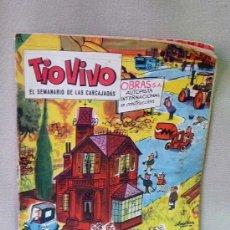 Tebeos: COMIC, TIO VIVO, EL SEMINARIO DE LAS CARCAJADAS, Nº111, EDICIONES BRUGUERA, AÑO 1958. Lote 23020595