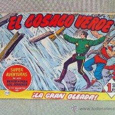 BDs: COMIC, EL COSACO VERDE , EDITORIAL BRUGUERA , Nº 114, LA GRAN OLEADA, ORIGINAL. Lote 23100330