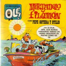 Tebeos: LOTE DE 37 EJ. MORTADELO Y FILEMON-COLECCION OLE AÑOS 1974-1992 (VER DETALLE). Lote 25253848