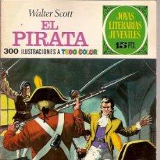 Tebeos: COMIC JOYAS LITERARIAS JUVENILES Nº 6 WALTER SCOTT EL PIRATA EDITORIAL BRUGUERA 1970. Lote 24885695