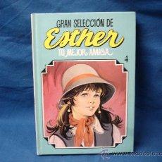 Tebeos: ESTHER - GRAN SELECCIÓN DE TU MEJOR AMIGA - NÚMERO 4 - EDITORIAL BRUGUERA 1985 - LIBRO DE LUJO. Lote 26610783