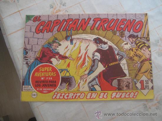EL CAPITAN TRUENO 341,BUENO. (Tebeos y Comics - Bruguera - Capitán Trueno)