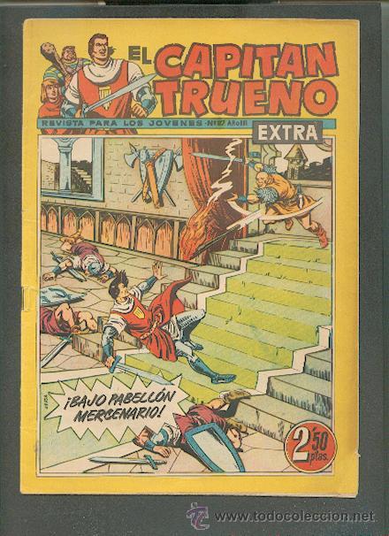 EL CAPITÁN TRUENO EXTRA Nº 127, EDITORIAL BRUGUERA (Tebeos y Comics - Bruguera - Capitán Trueno)