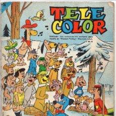 Tebeos: (M-0) TELE COLOR ALMANAQUE PARA 1965 , EDT BRUGUERA, PORTADA CON ROTURITAS. Lote 27213071