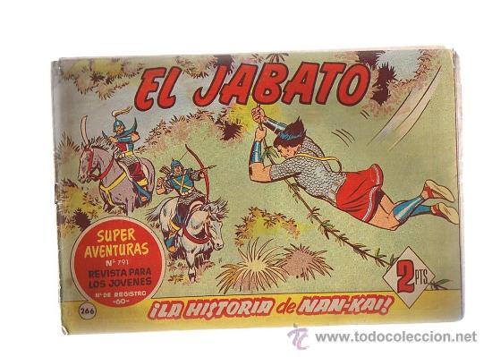EL JABATO Nº 266. (Tebeos y Comics - Bruguera - Jabato)
