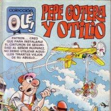 Tebeos: OLE - MORTADELO Y FILEMON CON EL BOTONES SACARINO Nº 202 - BRUGUERA. Lote 23370498