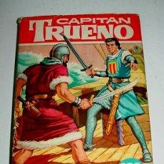 Tebeos: CAPITAN TRUENO, Nº 15 - LOS PIRATAS ARGELINOS - COLECCION HEROES, TAPA DURA - ED. BRUGUERA - 1ª EDIC. Lote 23380727