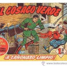Tebeos: (M-0) EL COSACO VERDE , SUPER AVENTURAS NUM 291 - EDT BRUGUERA 1960. Lote 23401757