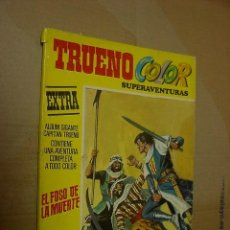 Tebeos: CAPITAN TRUENO, COLOR, SUPERAVENTURAS, EXTRA, ALBUM Nº 2. Lote 23415889