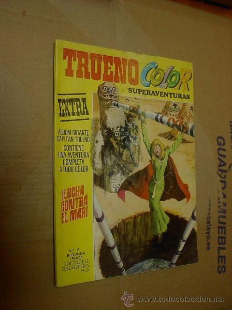 CAPITAN TRUENO, COLOR, SUPERAVENTURAS, EXTRA, ALBUM Nº 9 (Tebeos y Comics - Bruguera - Capitán Trueno)