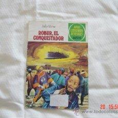 Tebeos: CÓMIC ROBUR EL CONQUISTADOR. NÚMERO 113. JULIO VERNE. EDITORIAL BRUGUERA. JOYAS LITERARIAS JUVENILES. Lote 23539748
