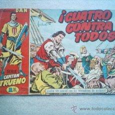 Tebeos: CAPITAN TRUENO Nº 9 BRUGUERA 1,50 PTAS ORIGINAL AMBROS COLECCION DAN. Lote 26523864
