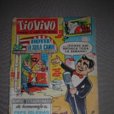 Tebeos: (M-10 ) TIO VIVO - NUMERO EXTRAORDINARIO DE HOMENAJE A PEPE IGLESIAS ( EL ZORRO ) , BRUGUERA 1957. Lote 23592409