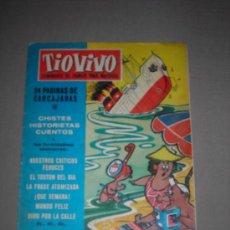 Tebeos: (M-10) TIO VIVO - AÑO 1 - NUM. 8 - EDT BRUGUERA, SEÑALES DE USO, ROTURITA EN EL LOMO. Lote 23592556