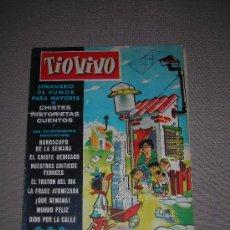Tebeos: (M-10) TIO VIVO - AÑO 1 - NUM. 26 - EDT BRUGUERA, SEÑALES DE USO. Lote 23592765