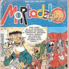 Tebeos: TEBEOS Y COMICS - AÑOS 80 - MORTADELO Y FILEMON - NUMERO 257 - HUMOR PARA NIÑOS Y MAYORES. Lote 23592891