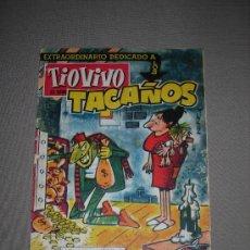 Tebeos: (M-10) TIO VIVO - AÑO III - NUM. 142 - 1958 - EXTRAORDIANRIO DEDICADO A LOS TACAÑOS, SEÑALES DE USO. Lote 23593490