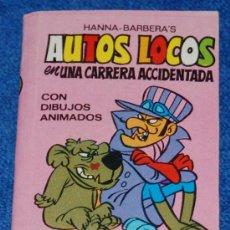 Tebeos: AUTOS LOCOS - UNA CARRERA ACCIDENTADA - MINI INFANCIA Nº 37 - BRUGUERA. Lote 23671494