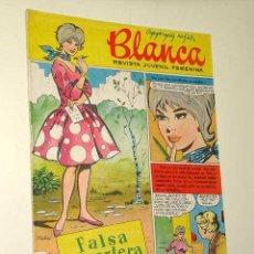 Tebeos: BLANCA Nº 1 REVISTA JUVENIL FEMENINA BRUGUERA 1961. IBÁÑEZ, PURITA. DUO DINÁMICO, DEBBIE REYNOLDS. +. Lote 26817639