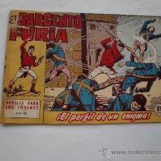 Tebeos: SARGENTO FURIA Nº 12 ORIGINAL . Lote 26786195