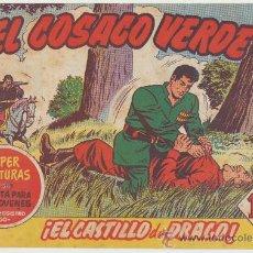 BDs: EL COSACO VERDE Nº 22. BRUGUERA 1960.. Lote 23915627