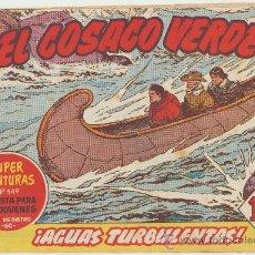 Tebeos: EL COSACO VERDE Nº 90. BRUGUERA 1960.. Lote 23916828