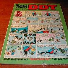 Tebeos: DDT Nº 237 IIIª ÉPOCA (1972) CON MICHEL TANGUY (MISIÓN ESPECIAL) Y CON MORTADELOS - REFª (JC). Lote 23953396
