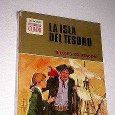 Tebeos: LA ISLA DEL TESORO. R. LOUIS STEVENSON. BOSCH PENALVA, CERÓN. HISTORIAS COLOR Nº 2. BRUGUERA 1972.. Lote 27488318