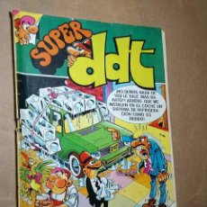 Tebeos: SUPER DDT Nº 83. BRUGUERA 1980. SIR TIM O'THEO, TOPOLINO, PEPE GOTERA Y OTILIO, PETRO-MORTADELOS. ++. Lote 24689009