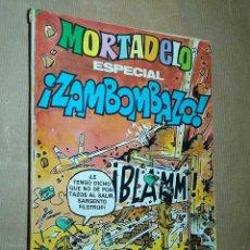 BDs: MORTADELO ESPECIAL ZAMBOMBAZO Nº 107. BRUGUERA 1981. HEROINA DE PUERTO ARTURO, ÁNGEL PARDO. +++++. Lote 24690306